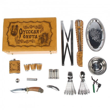 """Набор в чемодане """"Охота на уток"""" 38 предметов, фото 2"""