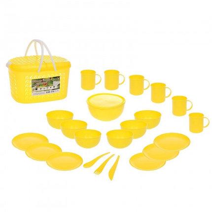 Набор для пикника на 6 персон, цвет МИКС, фото 2