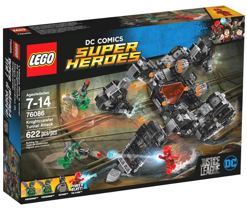 76086 Lego Super Heroes Лига Справедливости: Сражение в туннеле, Лего Супергерои DC