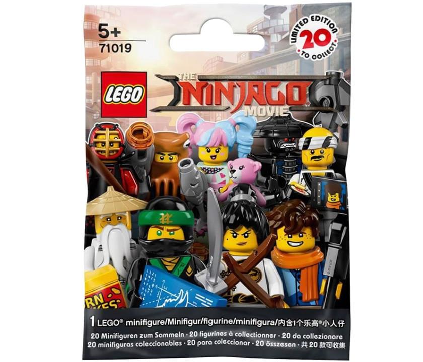 71019 Lego Минифигурки Лего Фильм: Ниндзяго (неизвестная, 1 из 20 возможных)