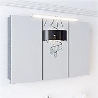 Зеркальный шкаф Aqwella Broadway 100 со светильником (Brw.04.10)