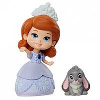 Disney Princess 011500 Принцессы Дисней Кукла персонаж сериала София Прекрасная 7,5 см, в асс-те