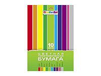 Цветная голографическая бумага 10 цветов