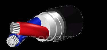 Кабель АПвБбШв 2х25 (ож)-1