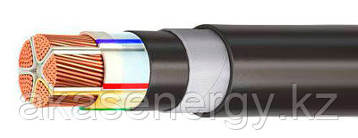 Кабель ВБШвнг(А)-LS 5х25 ок(N,PE) -0,66