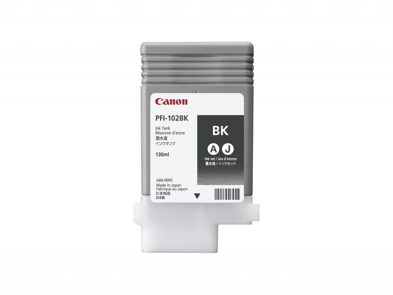 Струйный картридж Canon PFI-102 (Оригинальный, Черный - Black) 0895B001