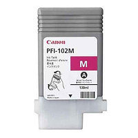 Струйный картридж Canon PFI-102 (Оригинальный, Пурпурный - Magenta) 0897B001