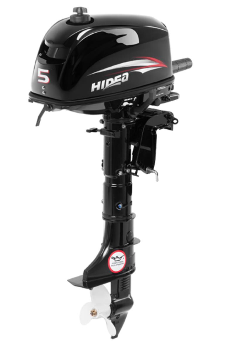 Лодочный мотор HIDEA 5 л/с двухтактный