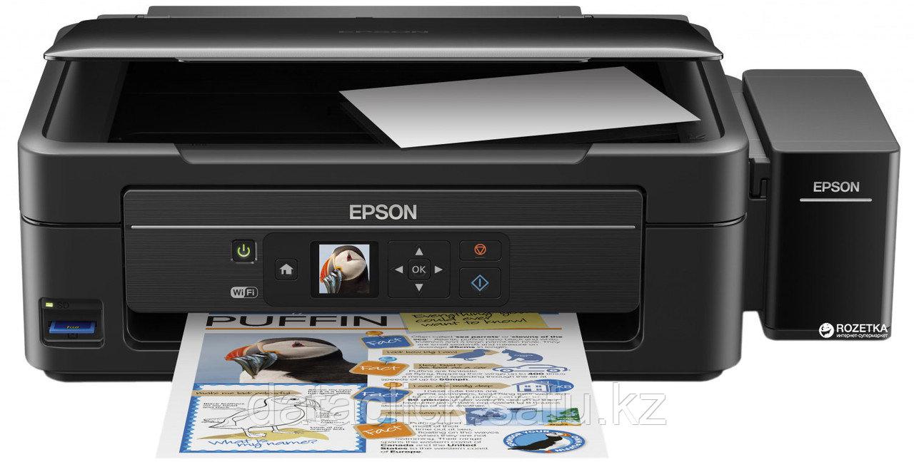 Epson L486 фабрика печати, Wi-Fi