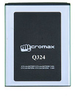 Заводской аккумулятор для Micromax Bolt Q324 (Q324, 1450 mAh)