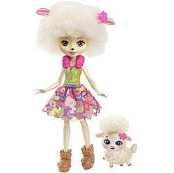 """Enchantimals Кукла """"Энчантималс"""" с питомцем - Лорна Барашка, 15 см"""