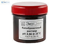 ЭкоЮнит Калибровочный буферный раствор pH 3.56 для pH метров в новой герметичной упаковке K-356