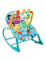 Кресло-качалка с игрушками и вибрацией FitchBaby пингвин