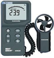 Портативный анемометр AR826 с выносным датчиком