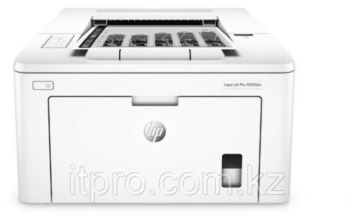 Принтер лазерный HP LasesrJet Pro M203dn