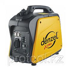 Генератор инверторный GT-1300i, X-Pro 1,3 кВт, 220В, бак 3 л, ручной старт//DENZEL