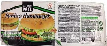 Безглютеновые Булочки для гамбургера (PANINO HAMBURGER) /NUTRI FREE 180 грамм 2*90 грамм