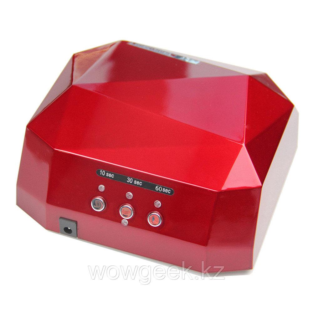 Лампа CCFL (UV) + LED лампа 36W красная