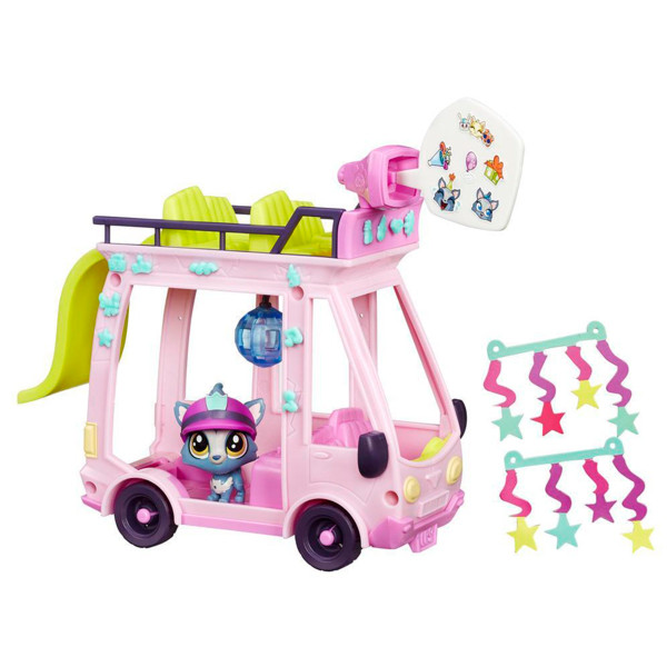 Littlest Pet Shop B3806 Литлс Пет Шоп Набор Автобус
