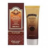 Premium Placenta Sun BB Cream SPF40 PA++ [3W CLINIC], фото 2