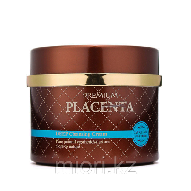 Premium Placenta Deep Cleansing Cream [3W CLINIC]
