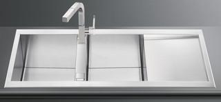 Кухонная мойка Smeg  LQR116-2