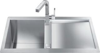 Кухонная мойка Smeg  LQR861F-2