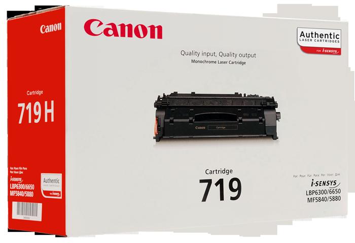 Картридж Canon 719 Лазерный черный