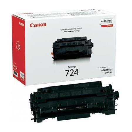 Картридж Canon 724 Лазерный черный