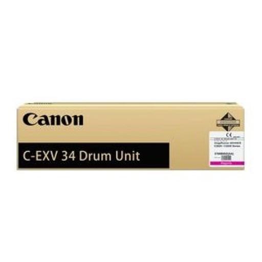 Драм картридж Canon C-EXV34 (Оригинальный, Пурпурный - Magenta) 3788B003