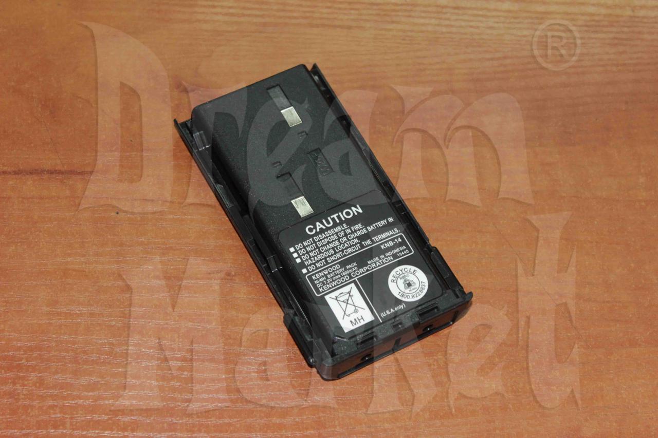 Аккумулятор Kenwood KNB-14, 1300 мАч, 7.2В, Ni-MH, для TK-3107/2107