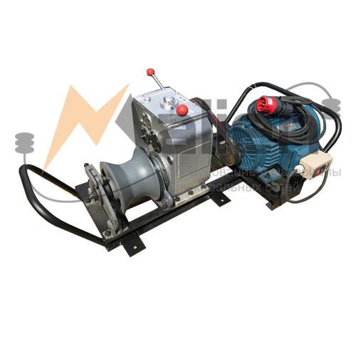 ЛКТЭ-5 Лебедка кабельная электрическая (до 5000 кг) МАЛИЕН