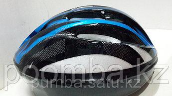 Защитная каска детская для катания на роликах синяя