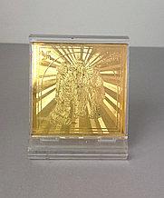 Статуэтка Радха-Кришна золотая, в пластике