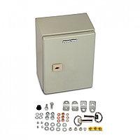Hyperline TECL-1032 Шкаф электрический 300х200х120 (ВхШхГ), c монтажной панелью и креплением на стену, IP66,