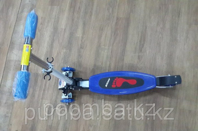 Трехколесный самокат для детей от 5ти лет синий