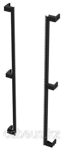 Siemon V6A-R-1-45 Комплект монтажных профилей (2шт.) для шкафа V600, 45U, черный