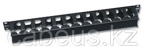 """Siemon RWM-1 19 """" односторонний горизонтальный кабельный органайзер с крышкой, 1U"""