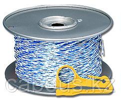 Siemon CJ5-W1-1000-06 Кроссировочный кабель категории 5е (синий/белый), 305 м