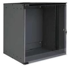 """Настенный односекционный шкаф, 19"""" 520x400 мм, 12U, серии Soholine"""