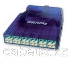 Hyperline PPTR-CSS-1-6xDLC-MM/MG-BL Кассета для оптических претерминированных решений, 6 дуплексных портов