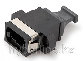 Hyperline MTP-MTP-MM-BK Проходной адаптер MTP-MTP, (черный)
