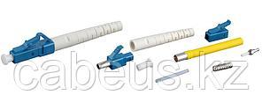 Hyperline LC-SM-3 Разъем клеевой LC, SM (для одномодового кабеля), 3 мм, (синее тело, белый хвостовик)