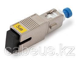 Hyperline ATT-SC-SC-PC-5dB Аттенюатор волоконно-оптический SC-SC, UPC, 5dB