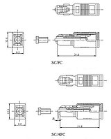 Hyperline ATT-SC-SC-APC-2dB Аттенюатор волоконно-оптический SC-SC, APC, 2dB