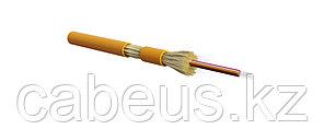 Hyperline FO-DT-IN-62-8-LSZH-OR Кабель волоконно-оптический 62.5/125 (OM1) многомодовый, 8 волокон, плотное буферное покрытие (tight buffer), для