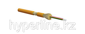 Hyperline FO-DT-IN-62-16-LSZH-OR Кабель волоконно-оптический 62.5/125 (OM1) многомодовый, 16 волокон, плотное буферное покрытие (tight buffer), для