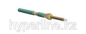 Hyperline FO-DT-IN-503-24-LSZH-AQ Кабель волоконно-оптический 50/125 (OM3) многомодовый, 24 волокна, плотное