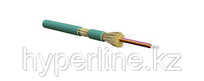 Hyperline FO-DT-IN-503-12-LSZH-AQ Кабель волоконно-оптический 50/125 (OM3) многомодовый, 12 волокон, плотное