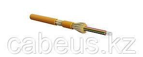 Hyperline FO-DT-IN-50-24-LSZH-OR Кабель волоконно-оптический 50/125 (OM2) многомодовый, 24 волокна, плотное